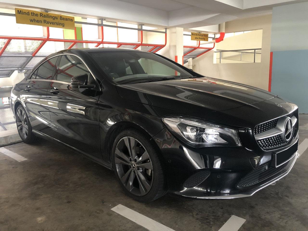 Mercedes-Benz CLA Class CLA-200 (For Lease)