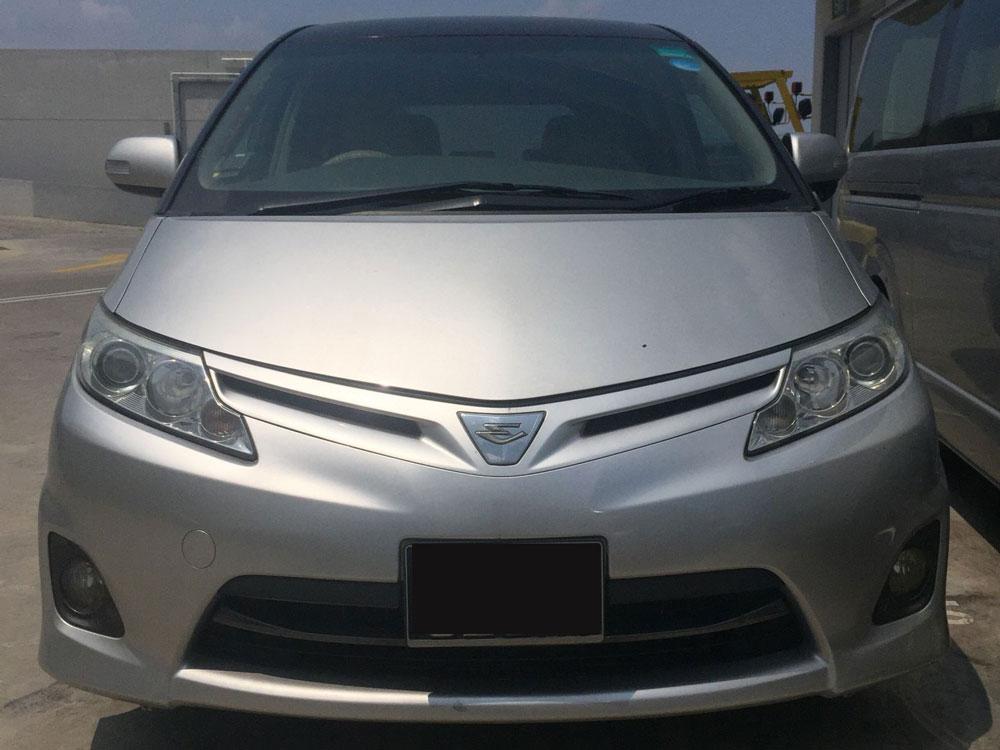 Toyota Estima (For Rent)