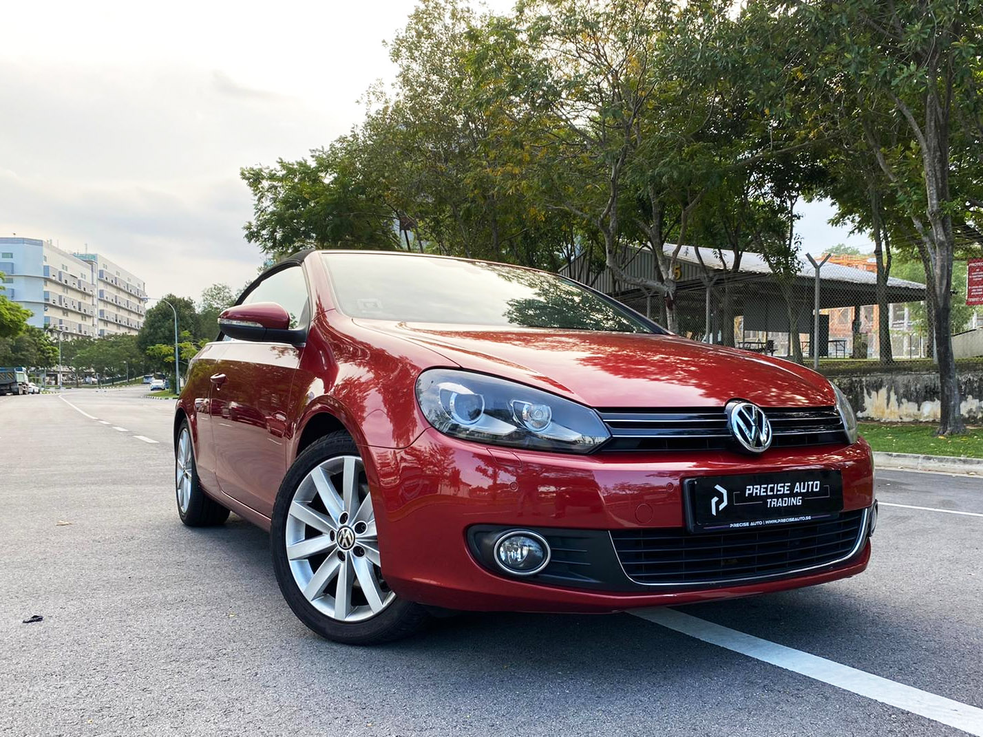 Volkswagen Golf Cabriolet 1.4A TSI (For Rent)