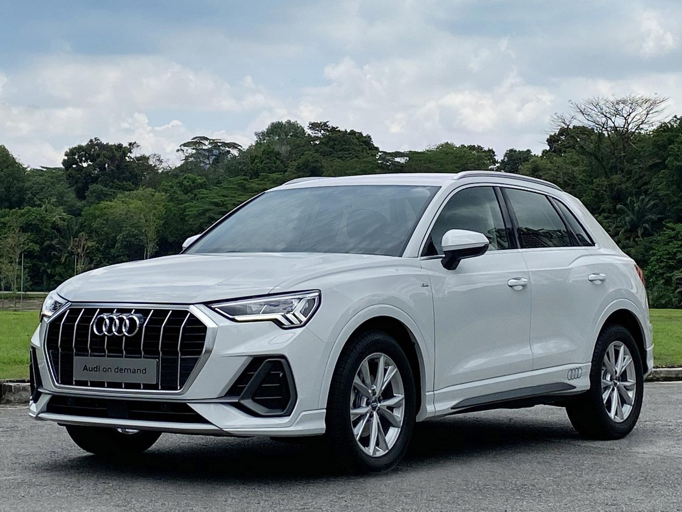 Audi Q3 (S line) 1.4 TFSI S tronic (For Rent)