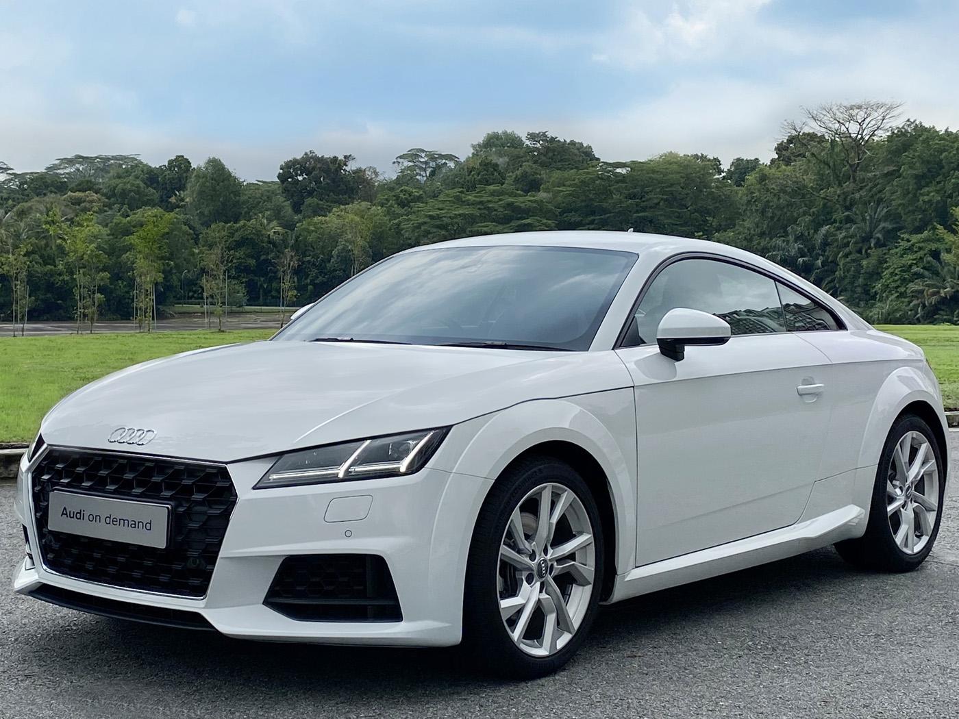Audi TT Coupé 2.0 TFSI S tronic (For Rent)