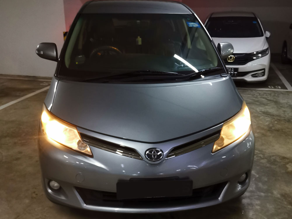 Toyota Previa (For Rent)