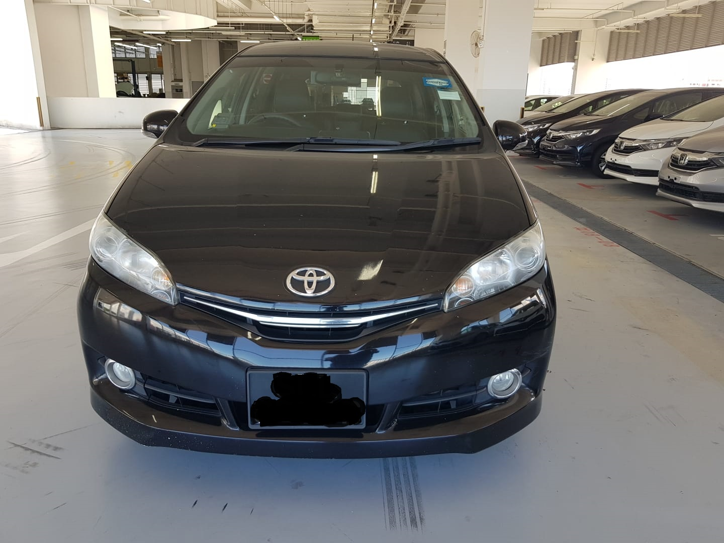 Toyota Wish (PHV Private Hire Rental)