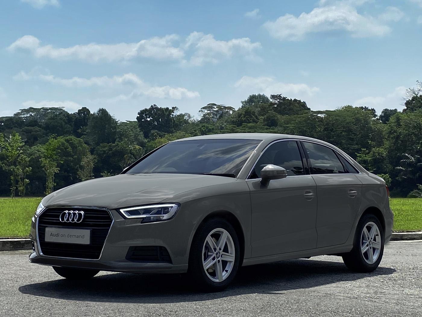Audi A3 Sedan 1.0 TFSI S tronic (For Rent)