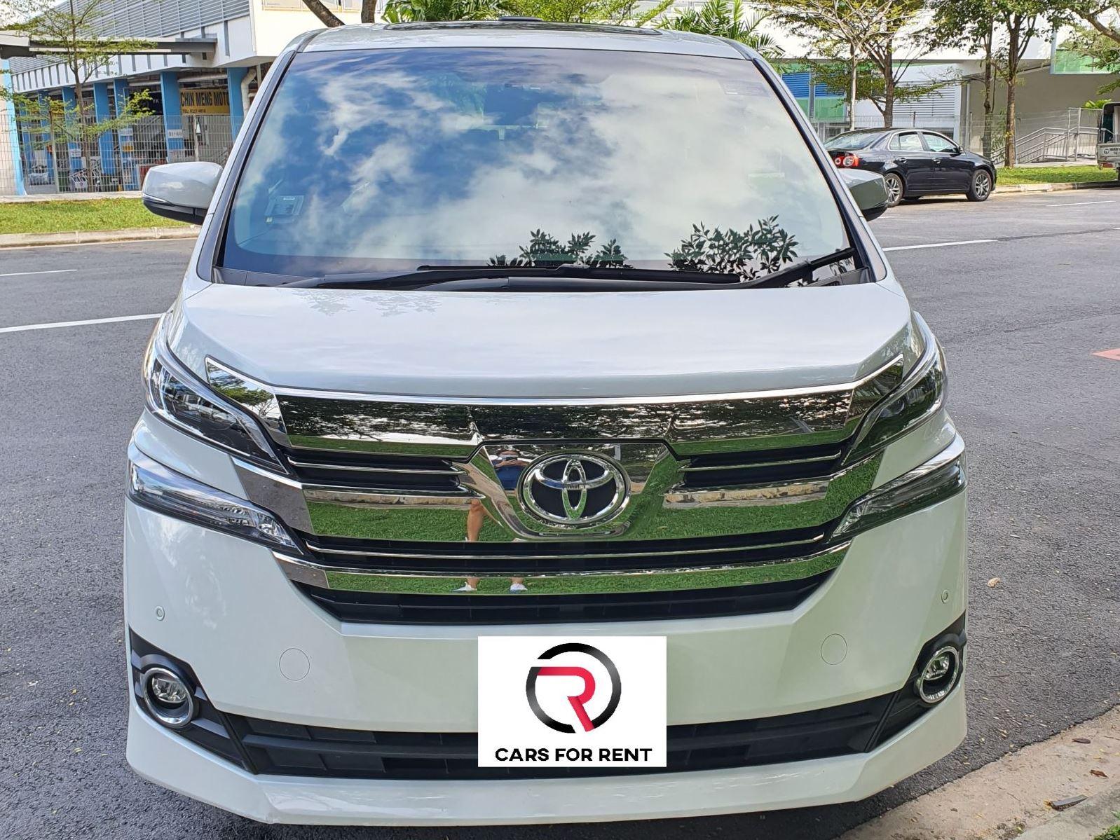 Toyota Vellfire (For Rent)