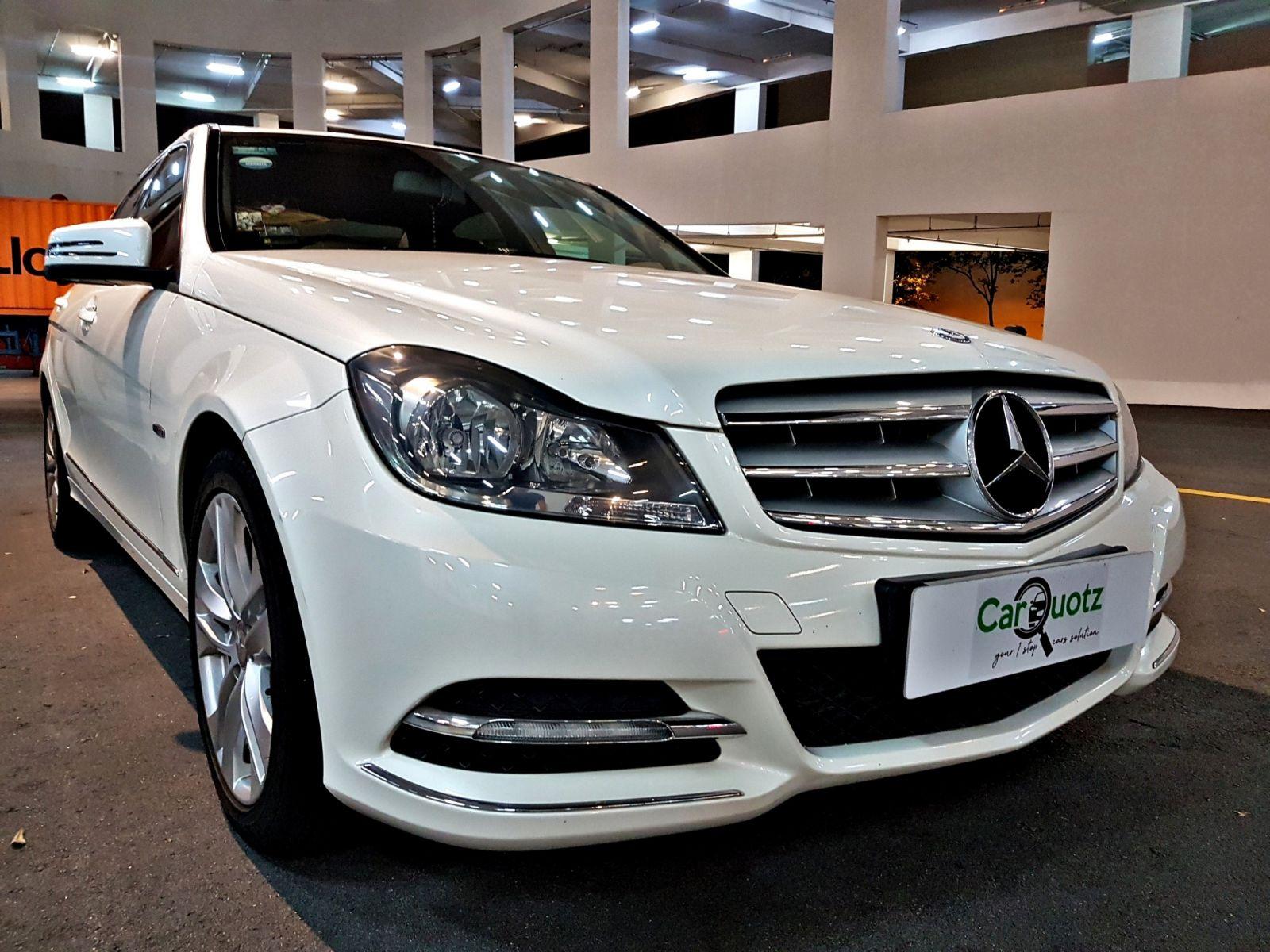 Mercedes-Benz C Class C180 (For Rent)