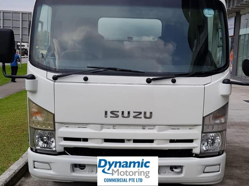 15ft Isuzu NNR85 Truck With Box (For Lease)