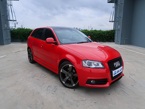 Audi A3 (For Rent)
