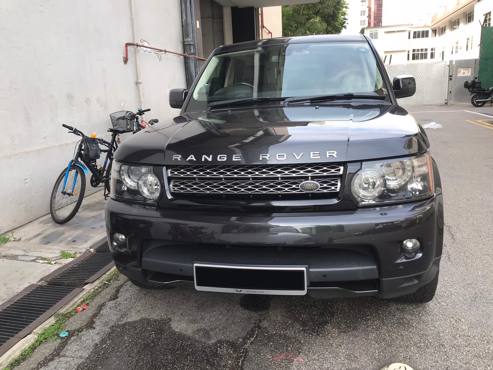 Land Rover Range Rover Sport 3.0L (For Rent)