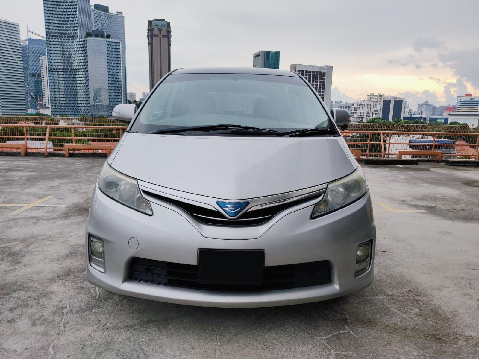Toyota Estima Hybrid (For Lease)