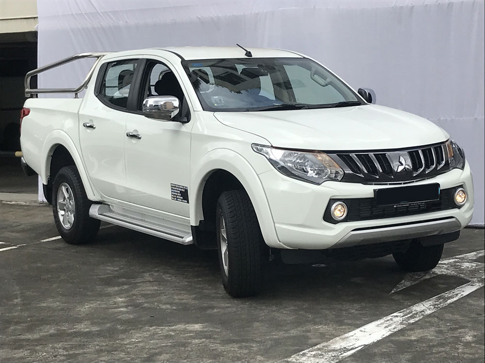 Mitsubishi L200 Twin-Cab (For Lease)