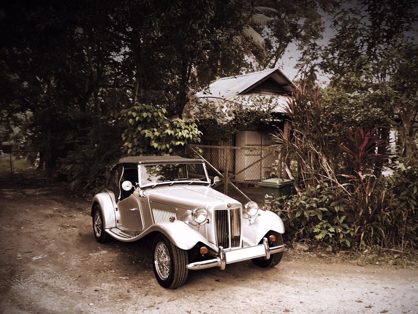 1950 MG TD2000 (Wedding Car Rental)