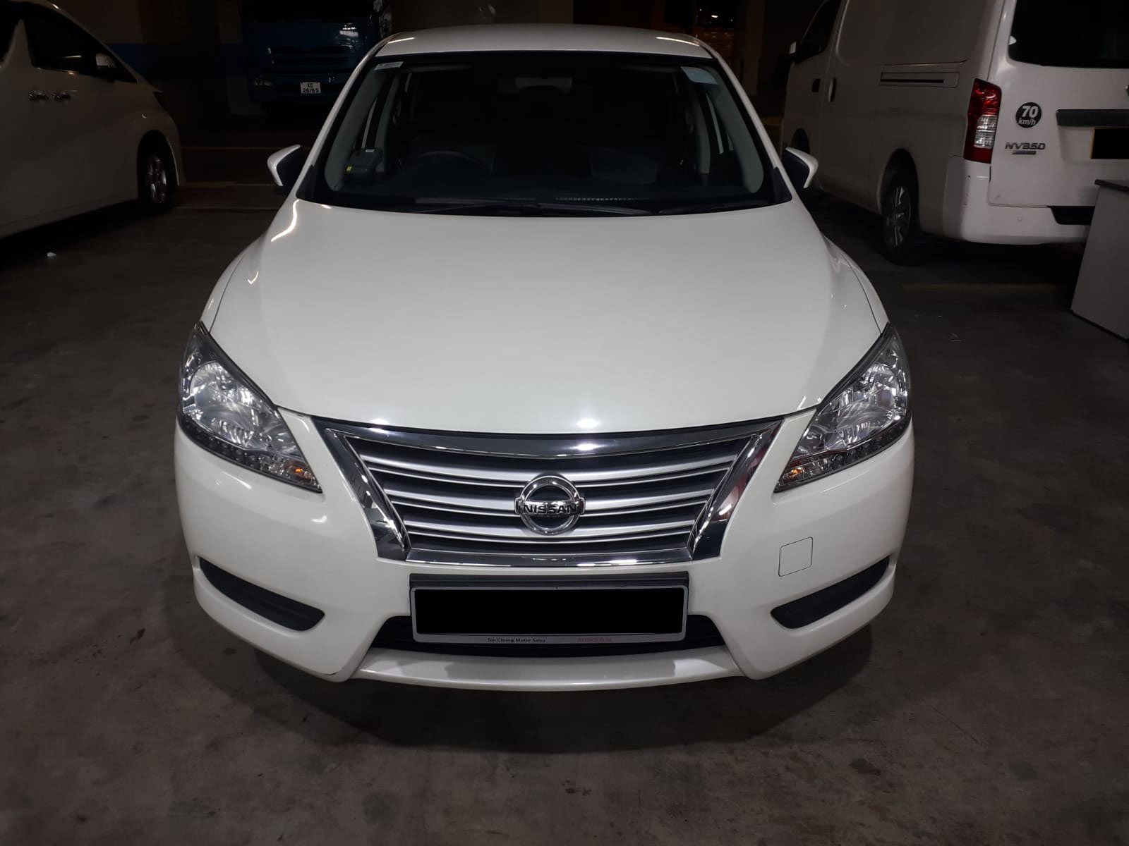 Nissan Sylphy 1.6A (For Rent)