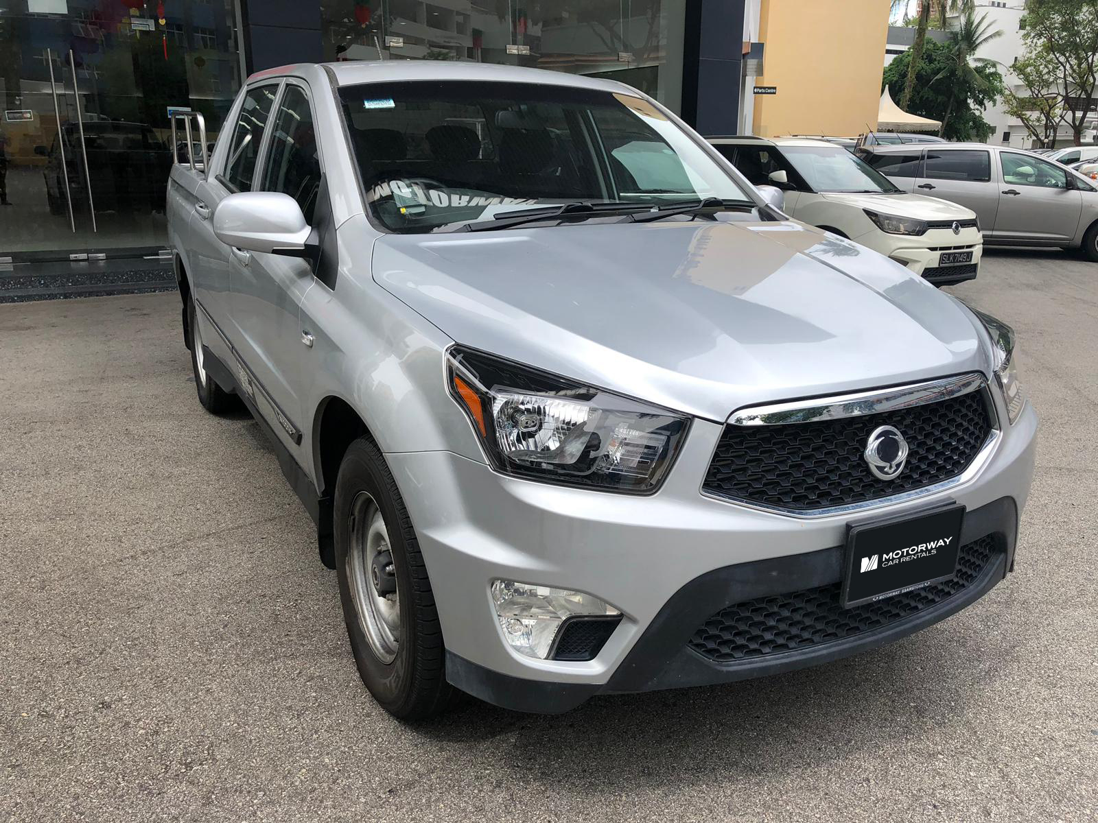 Ssangyong Actyon Sports Double Cab (For Rent)