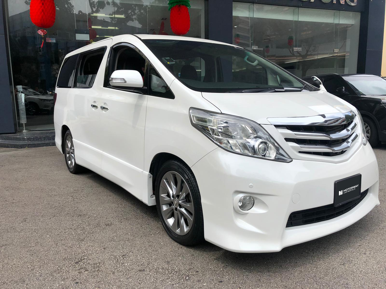 Toyota Alphard (For Rent)