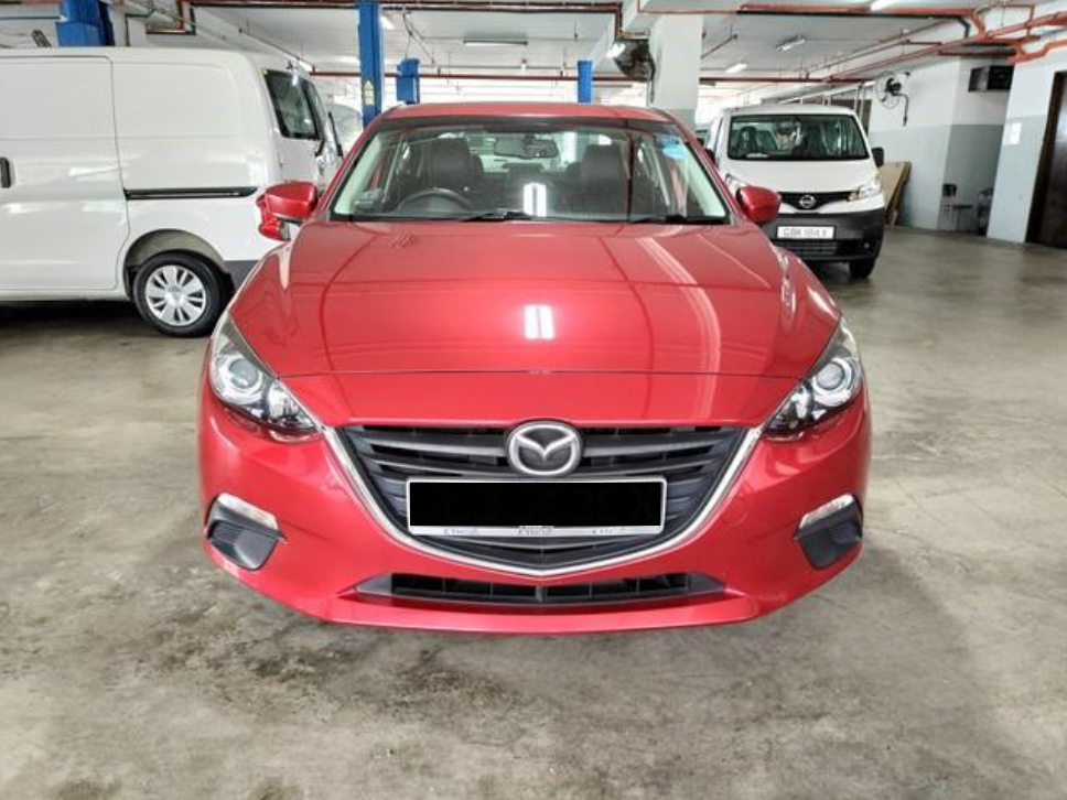 Mazda 3 1.5A (For Rent)