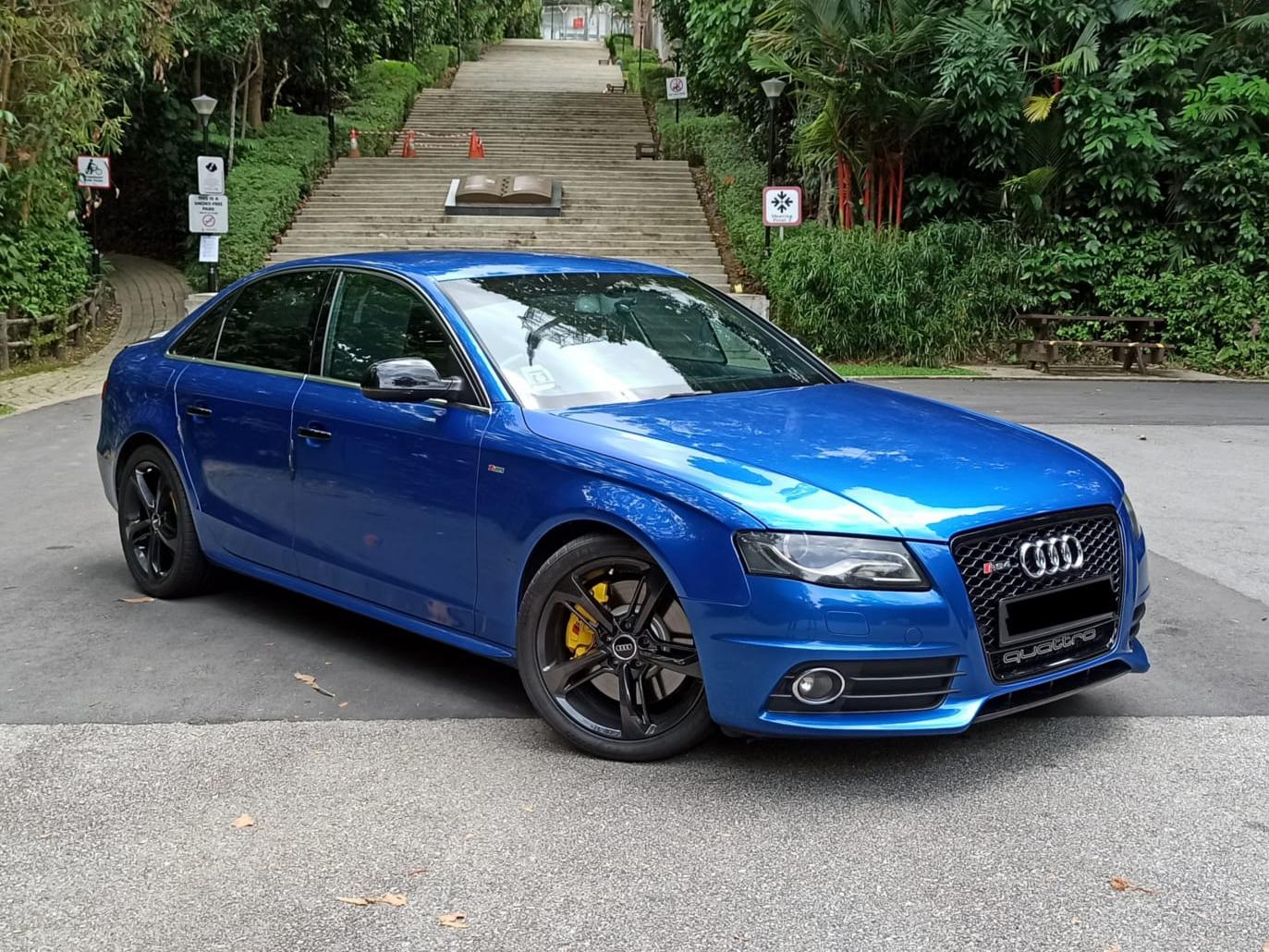 Audi A4 2.0T Quattro (For Rent)