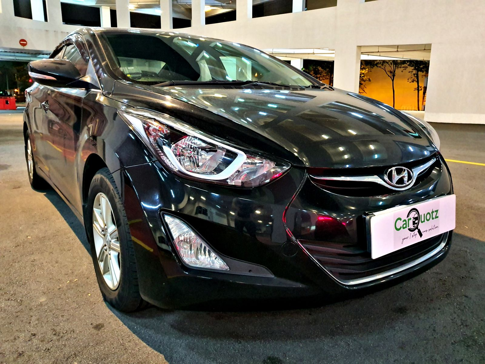 Hyundai Elantra 1.6A (For Rent)