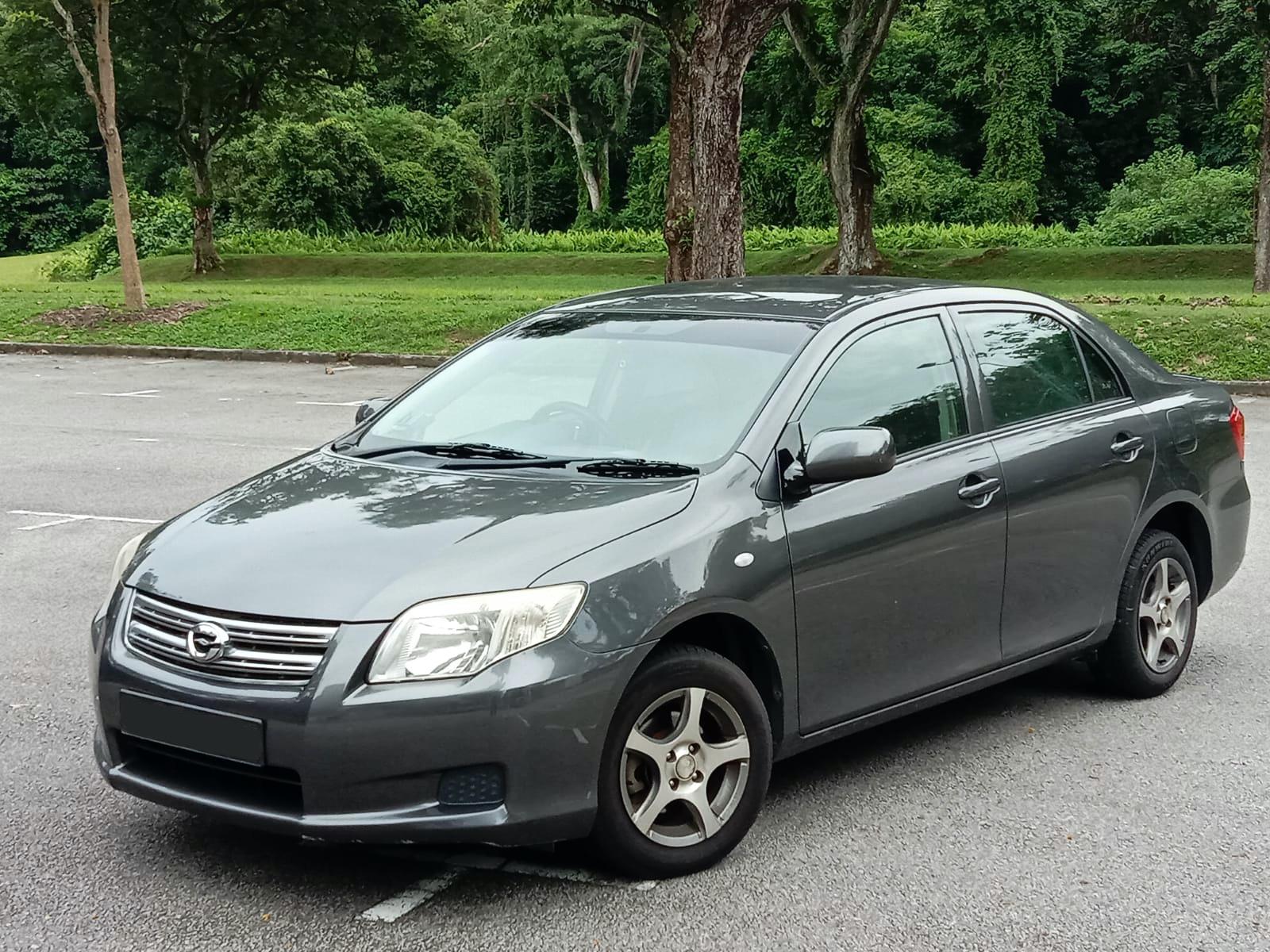 Toyota Corolla Axio (For Rent)