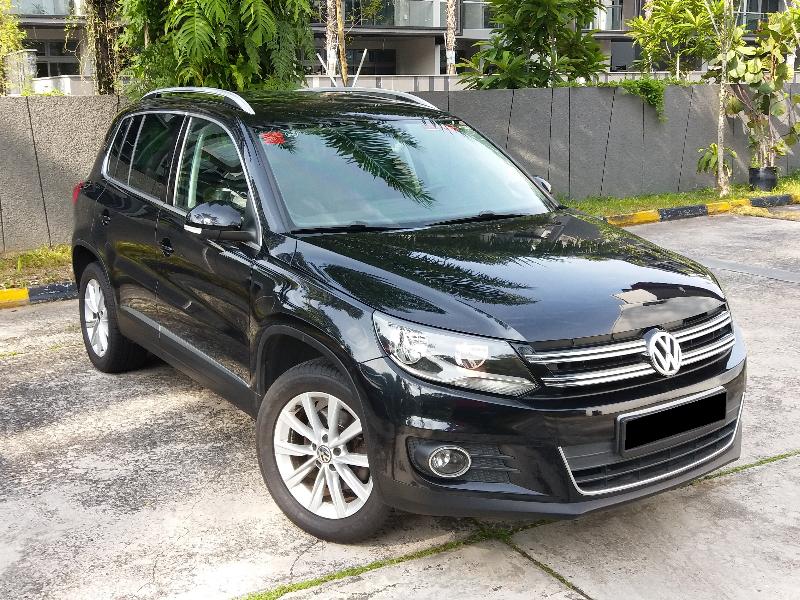 Volkswagen Tiguan (For Rent)