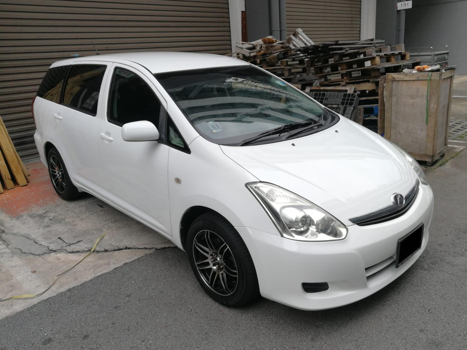 Toyota Wish 1.8X (PHV Private Hire Rental)