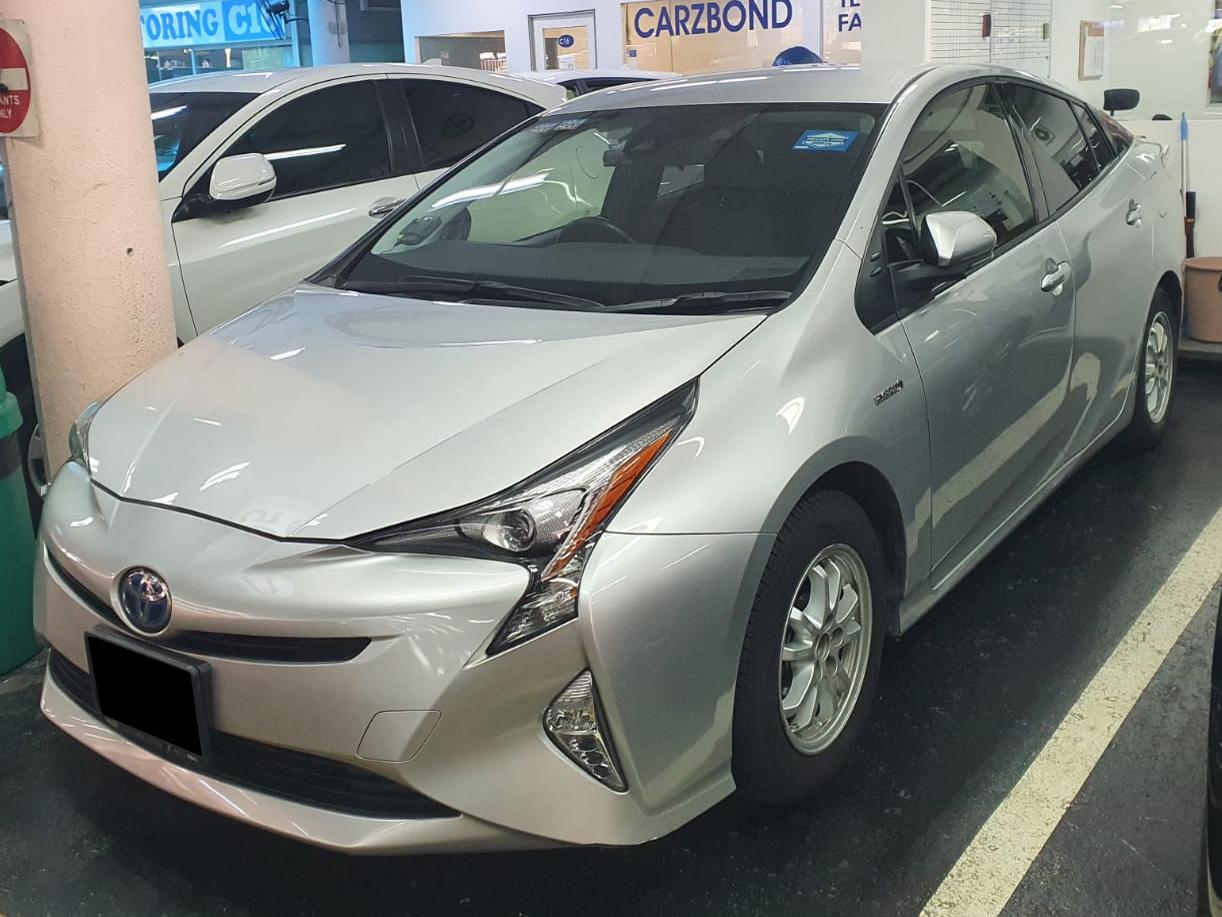 Toyota Prius Hybrid 1.8A (PHV Private Hire Rental)