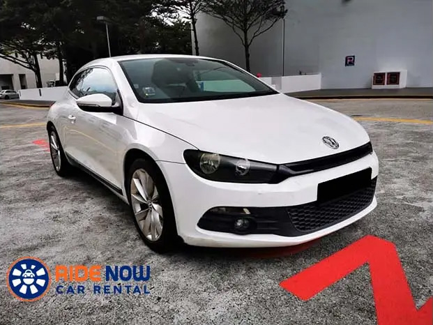Volkswagen Scirocco 1.4A (For Rent)