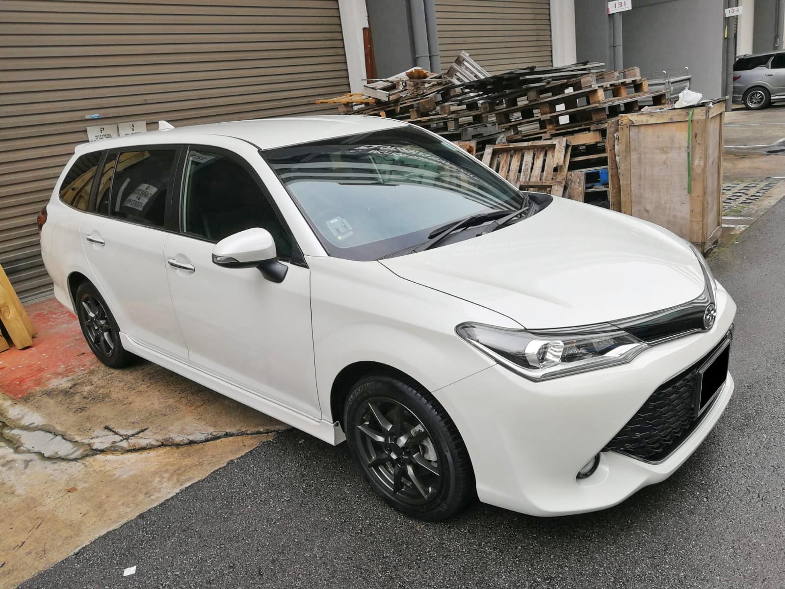 Toyota Corolla Fielder 1.5G (For Rent)