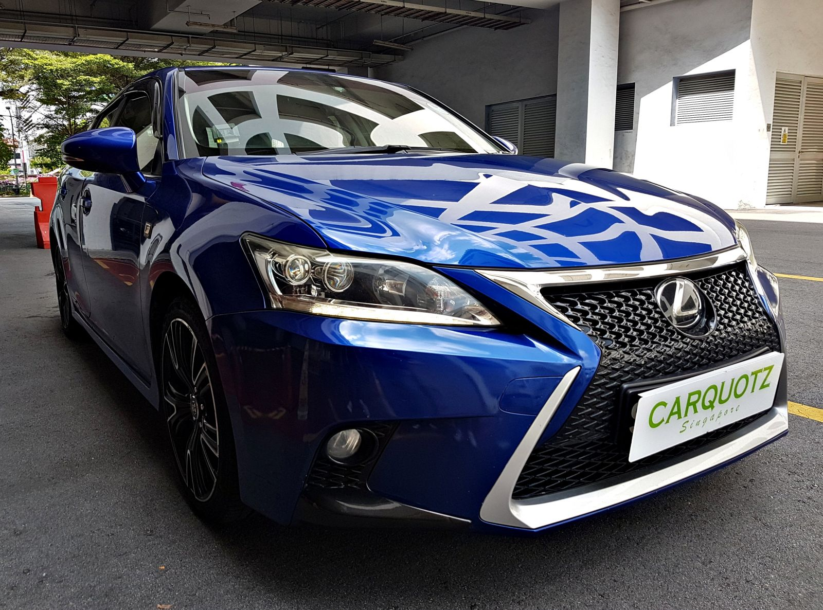 Lexus CT 200H 1.8A (For Rent)