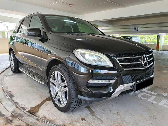 Mercedes-Benz M Class ML250 (For Rent)