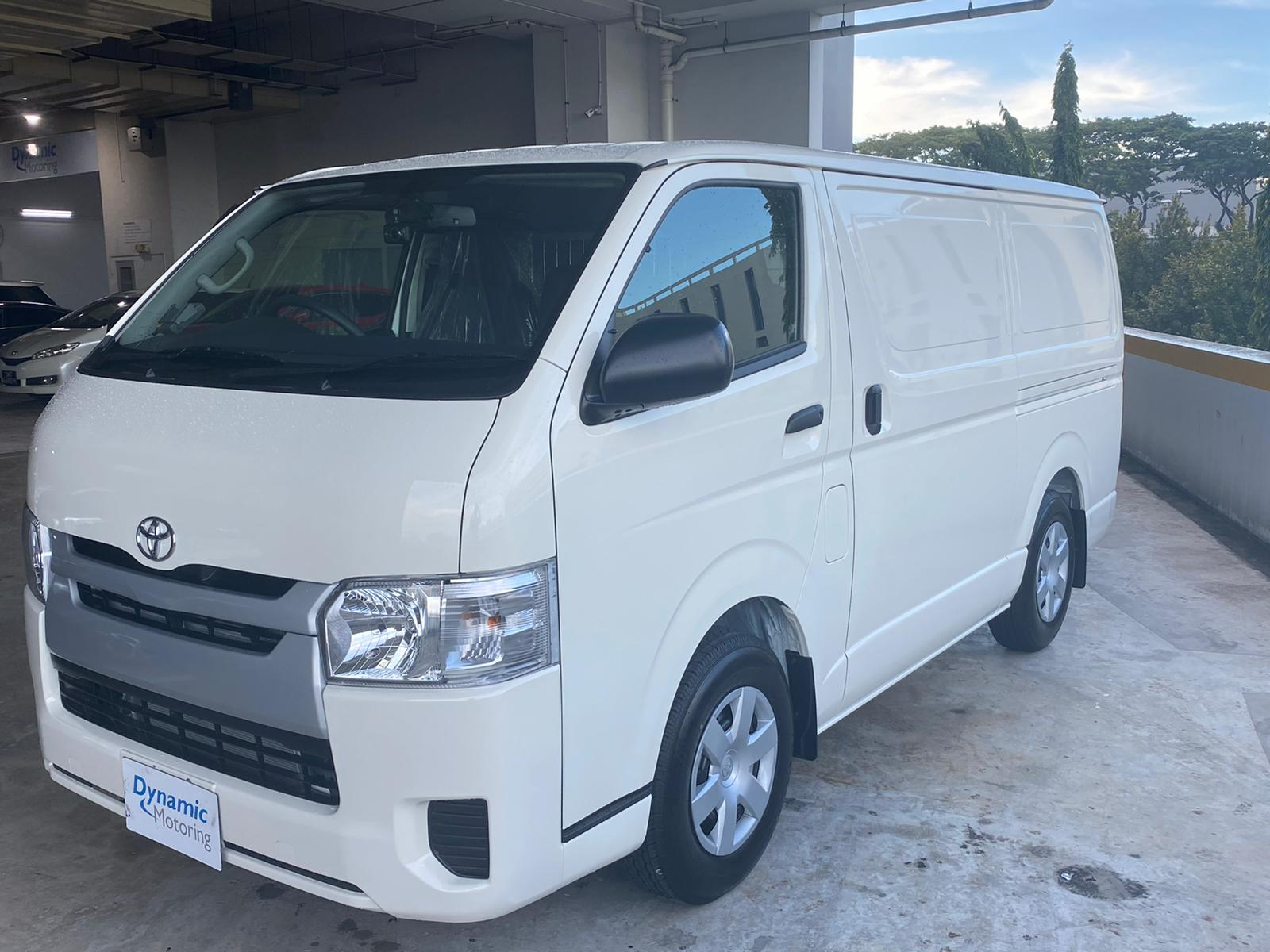 Toyota Hiace Brand New (For Lease)