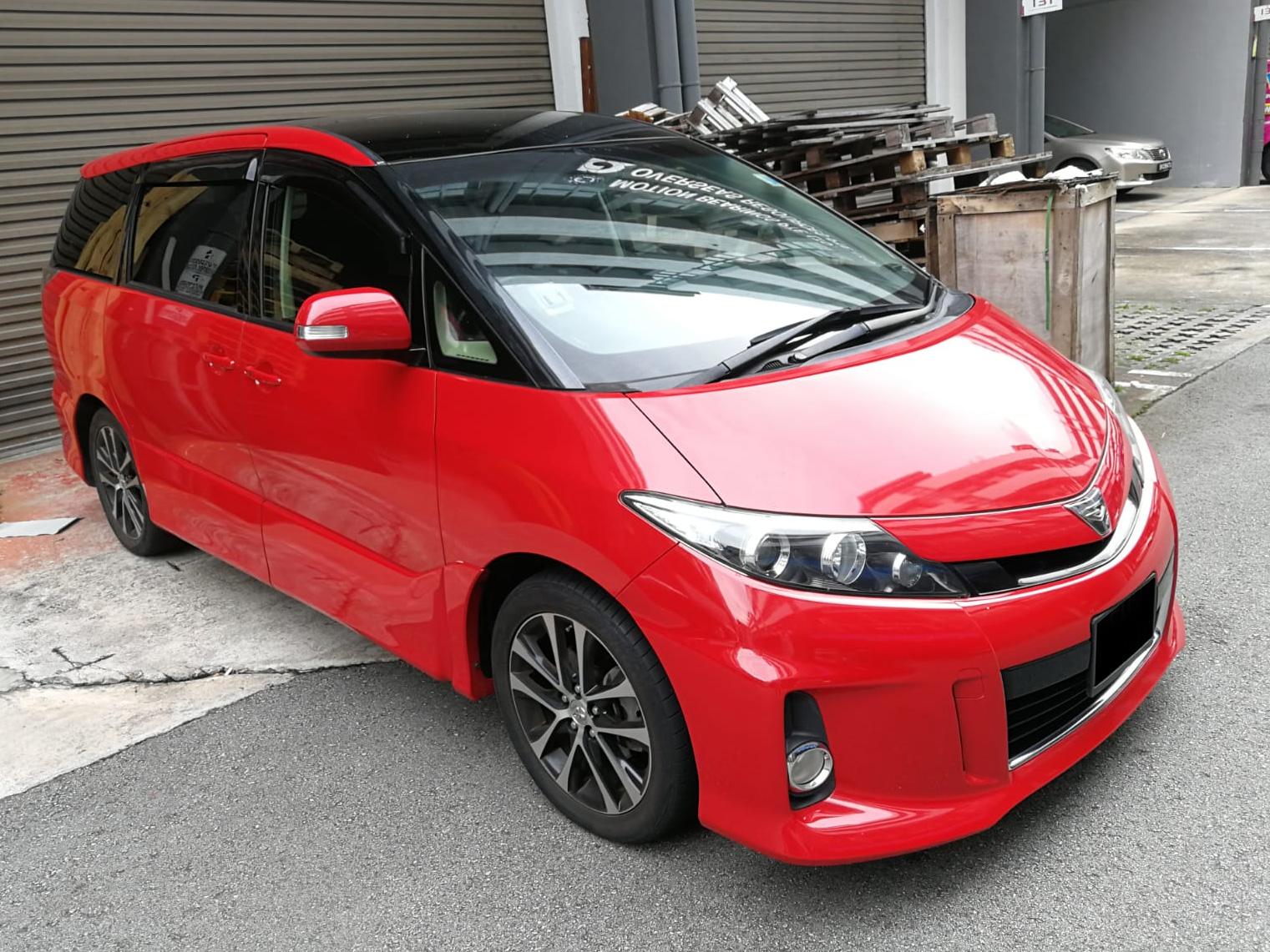 Toyota Estima Aeras 2.4A (For Rent)