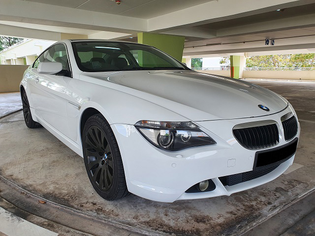 BMW 6 Series 630Ci (For Rent)