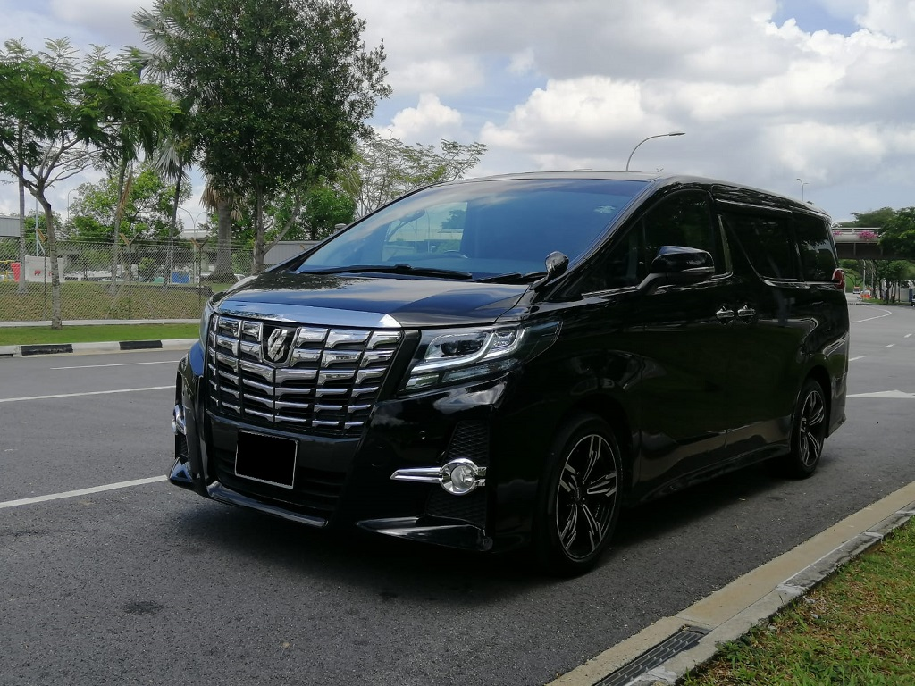 Toyota Alphard 2.5A S (PHV Private Hire Rental)