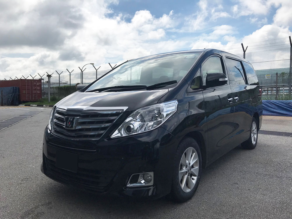 Toyota Alphard 2.4A (For Rent)