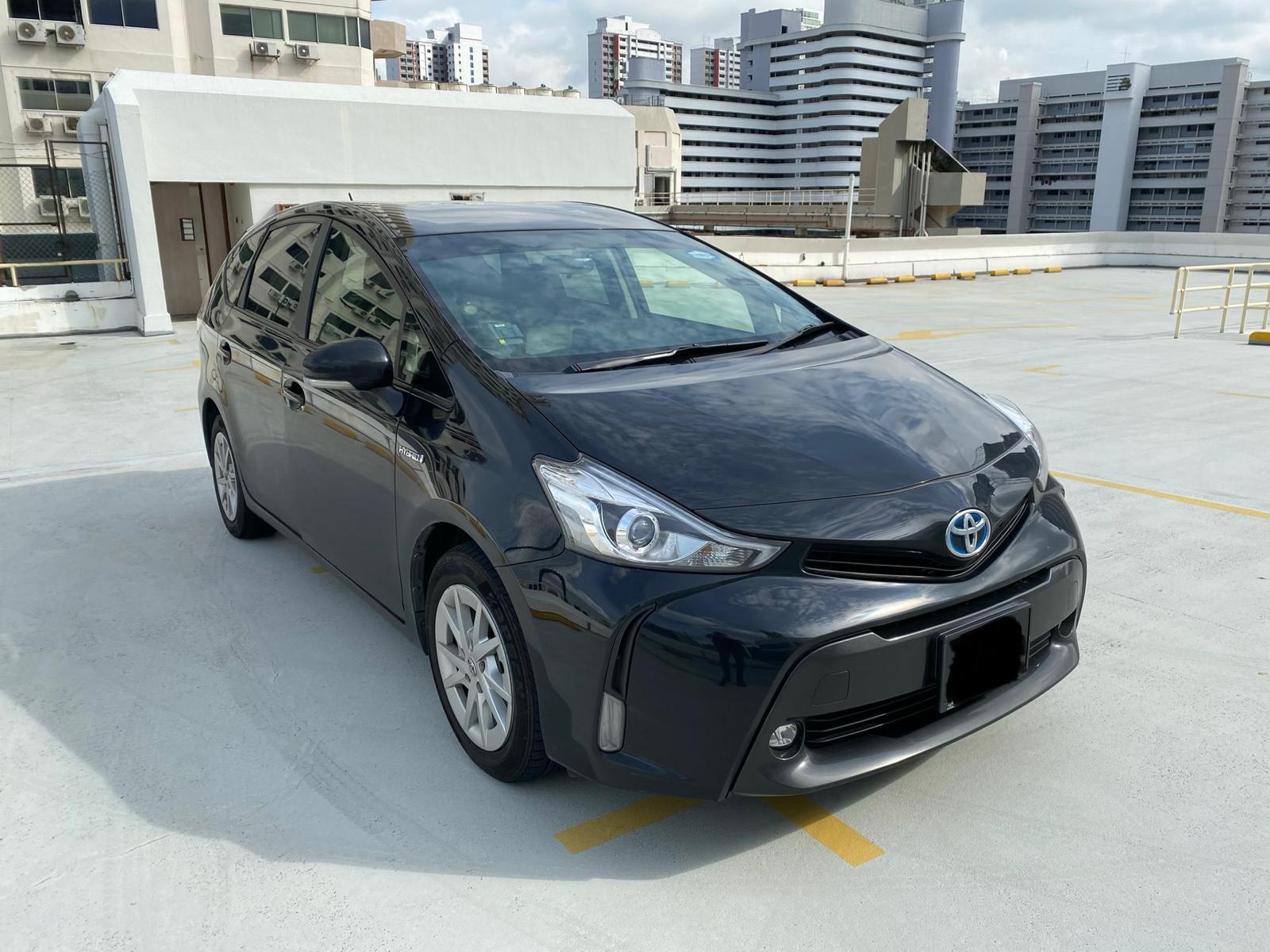 Toyota Prius Alpha Hybrid 1.8A (PHV Private Hire Rental)