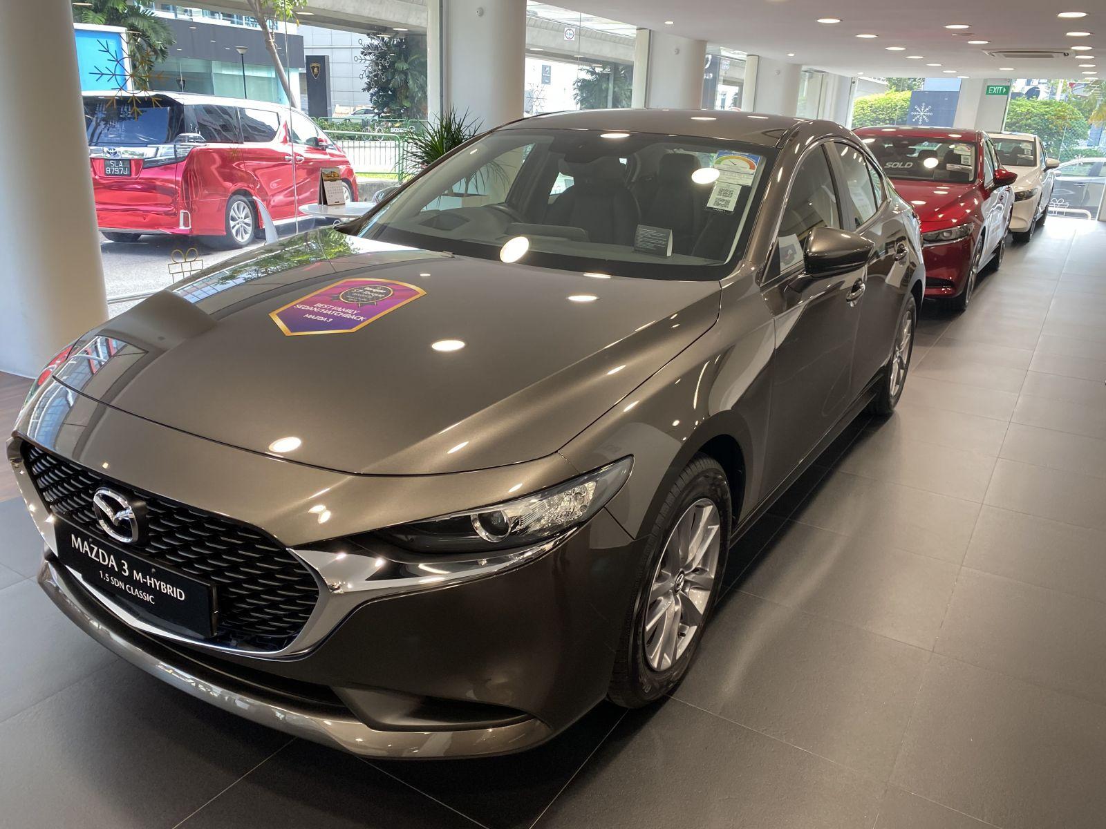 Mazda 3 Mild Hybrid 1.5A Brand New (For Lease)