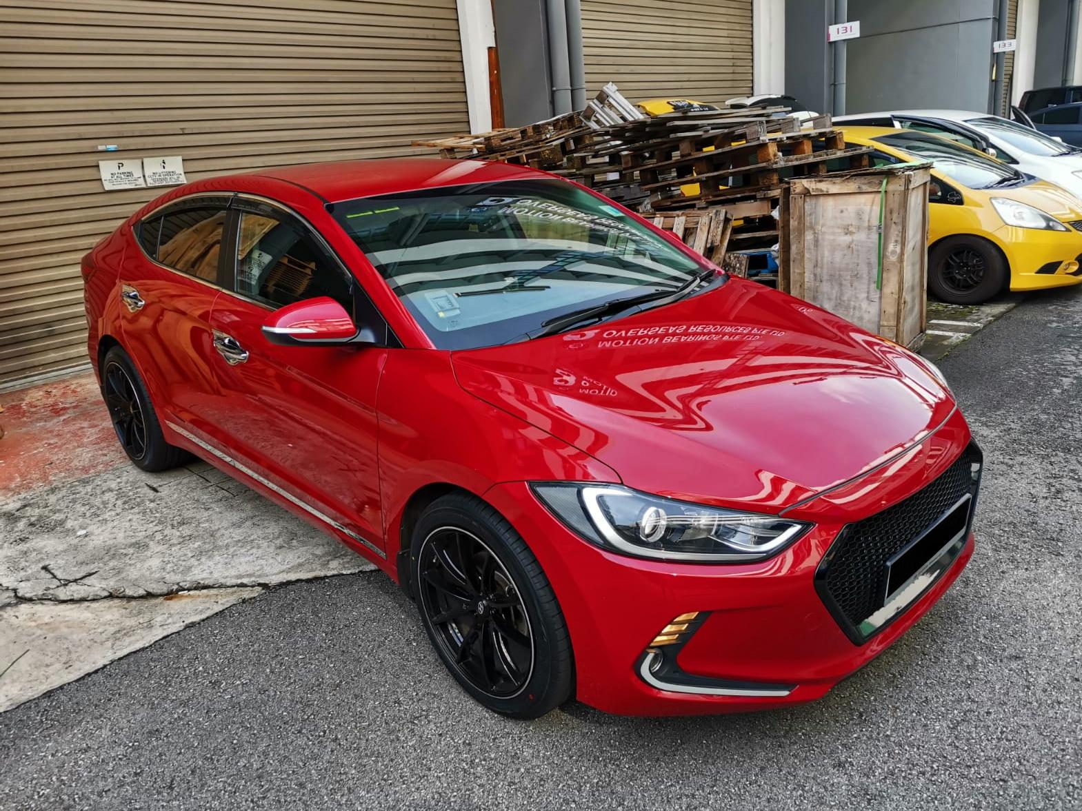 Hyundai Elantra 1.6A GLS (For Rent)