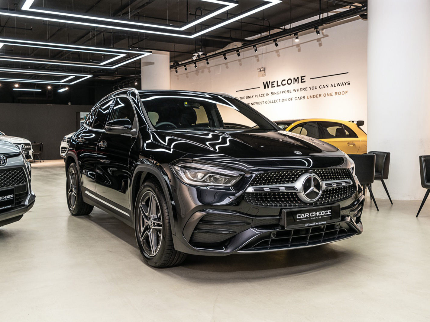 Mercedes-Benz GLA Class GLA200 Sports/AMG Brand New (For Lease)