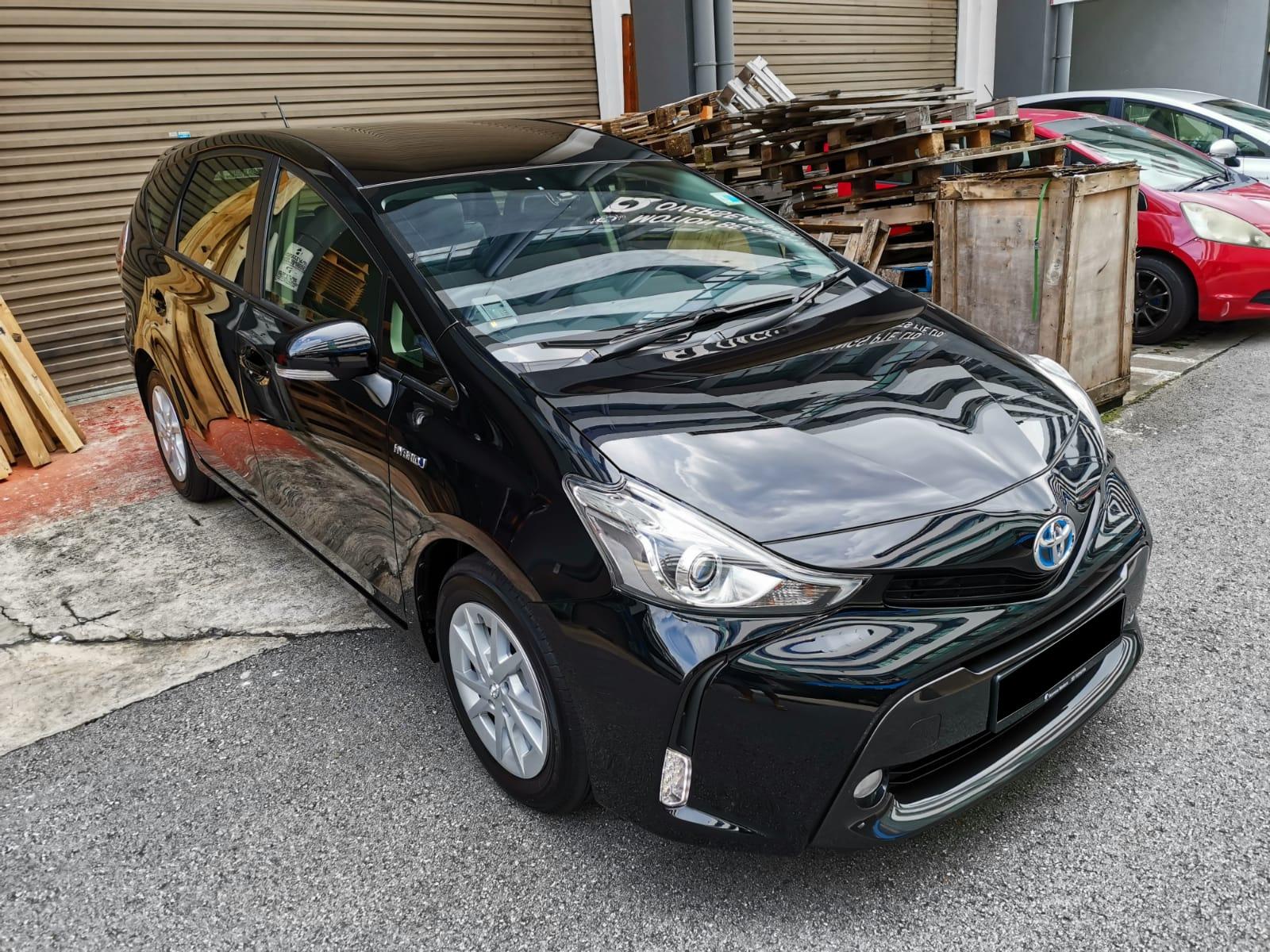Toyota Prius+ Hybrid 1.8A Brand New (PHV Private Hire Rental)