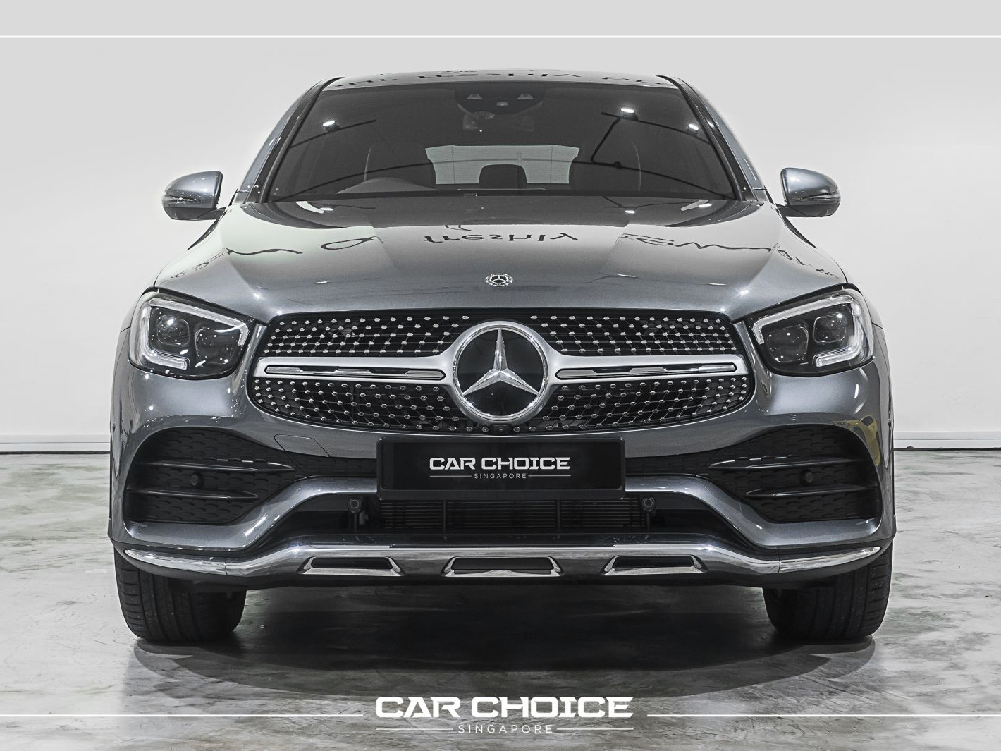 Mercedes-Benz GLC Class GLC300 AMG Coupe Premium Brand New (For Lease)