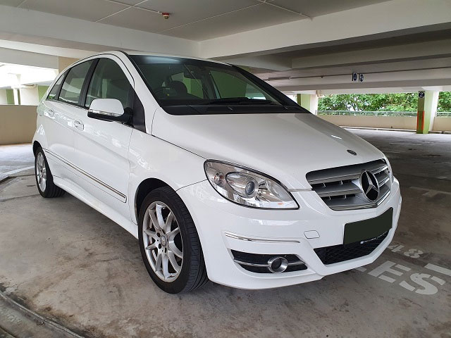 Mercedes-Benz B Class B160 (For Rent)