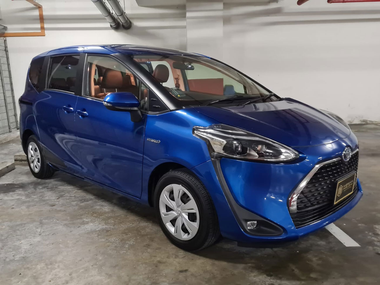 Toyota Sienta (For Lease)
