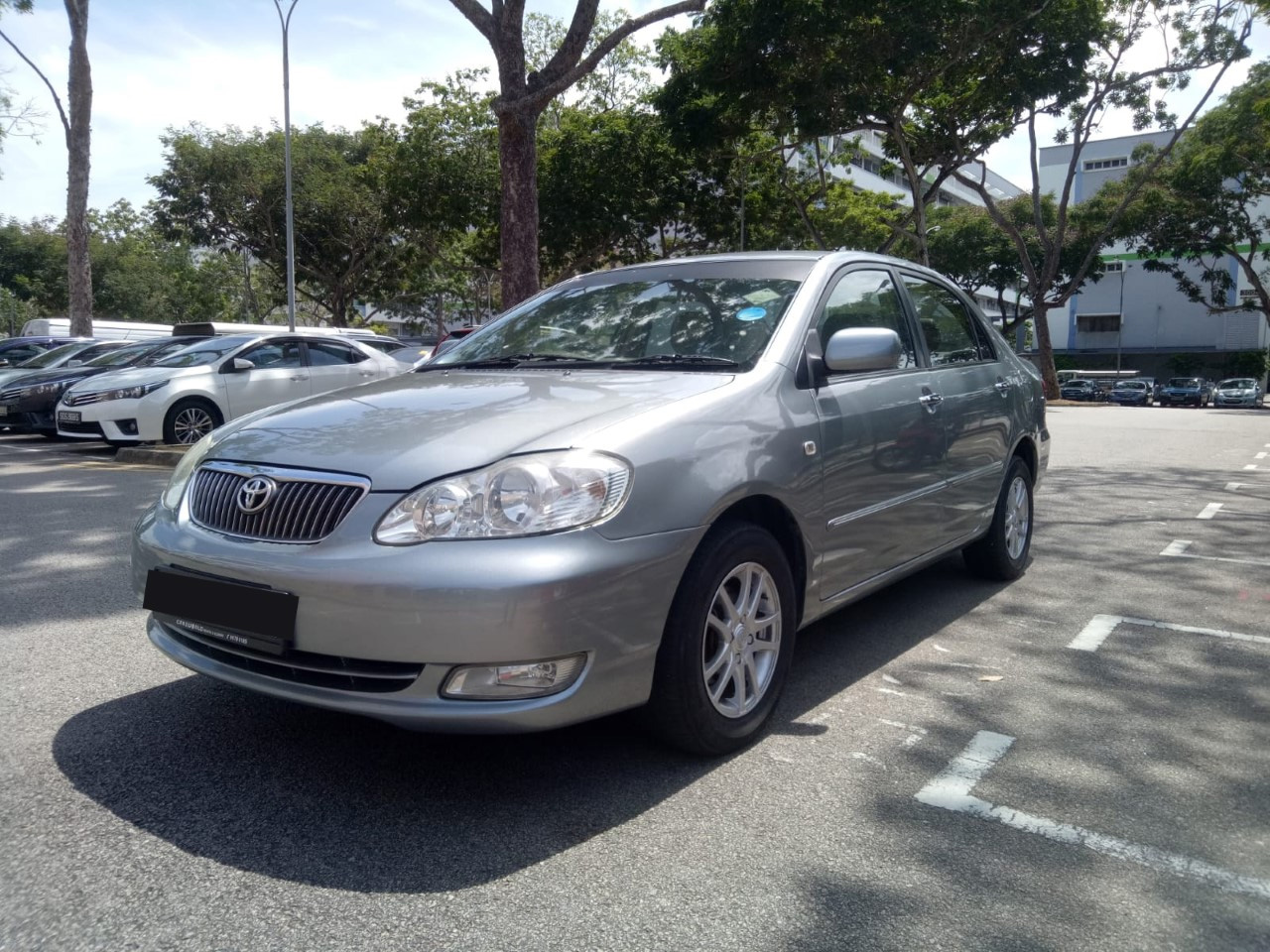 Toyota Corolla Altis (For Rent)