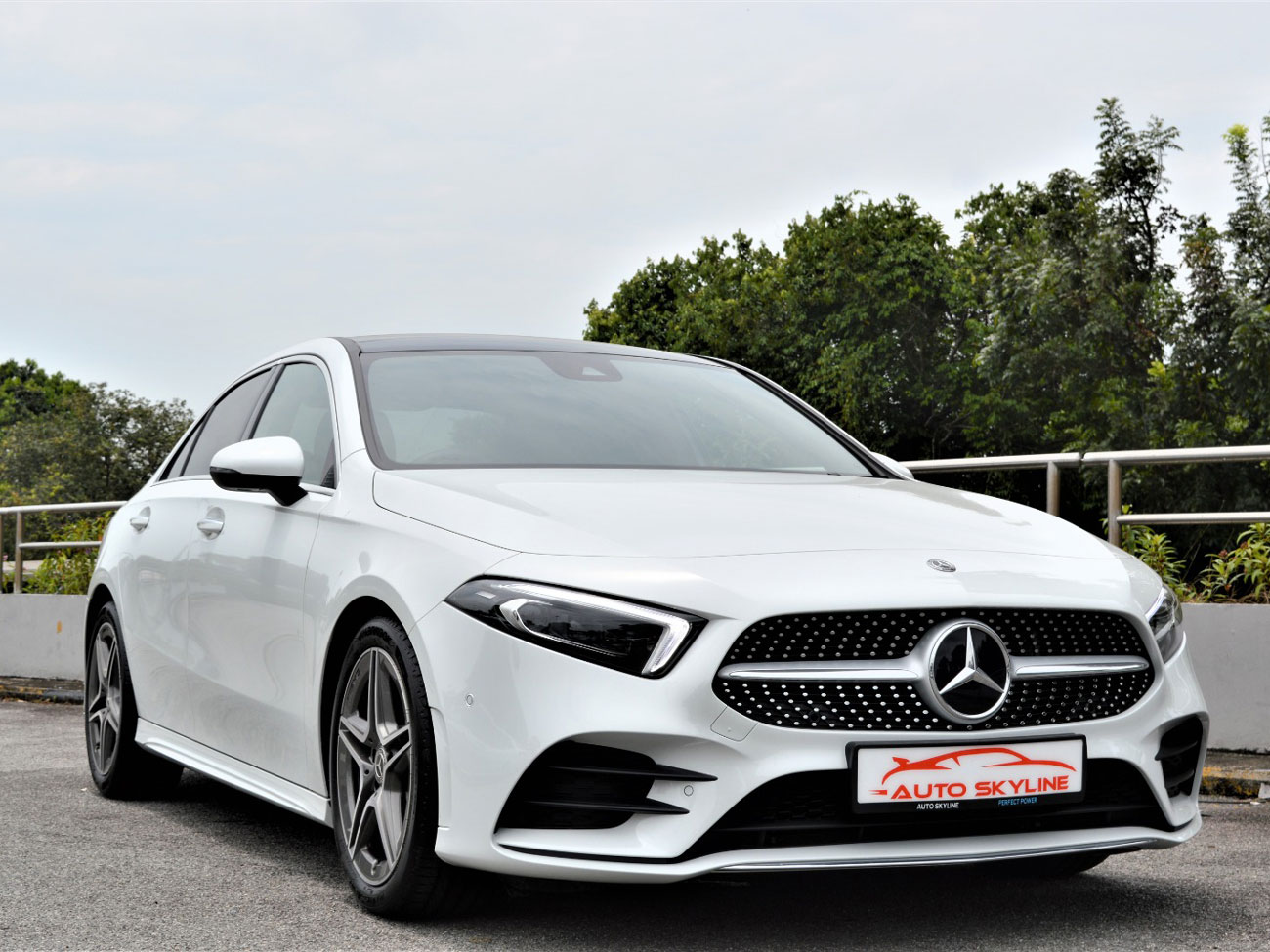 Mercedes-Benz A Class A200 AMG Line Premium Plus Sunroof Brand New (For Lease)