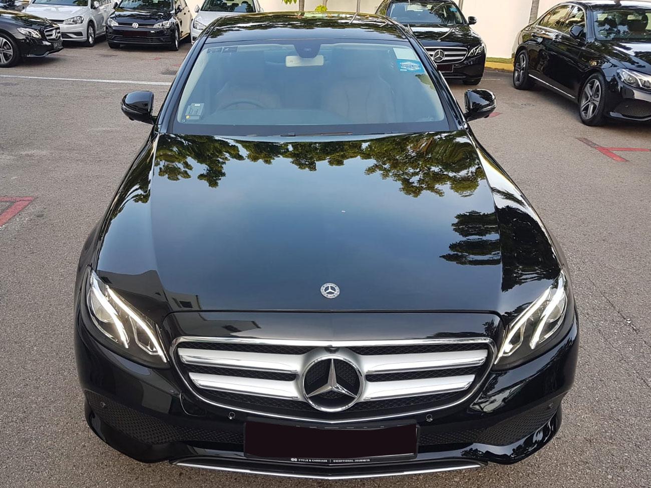 Mercedes-Benz E Class E200 Avantgarde 2.0A (For Rent)