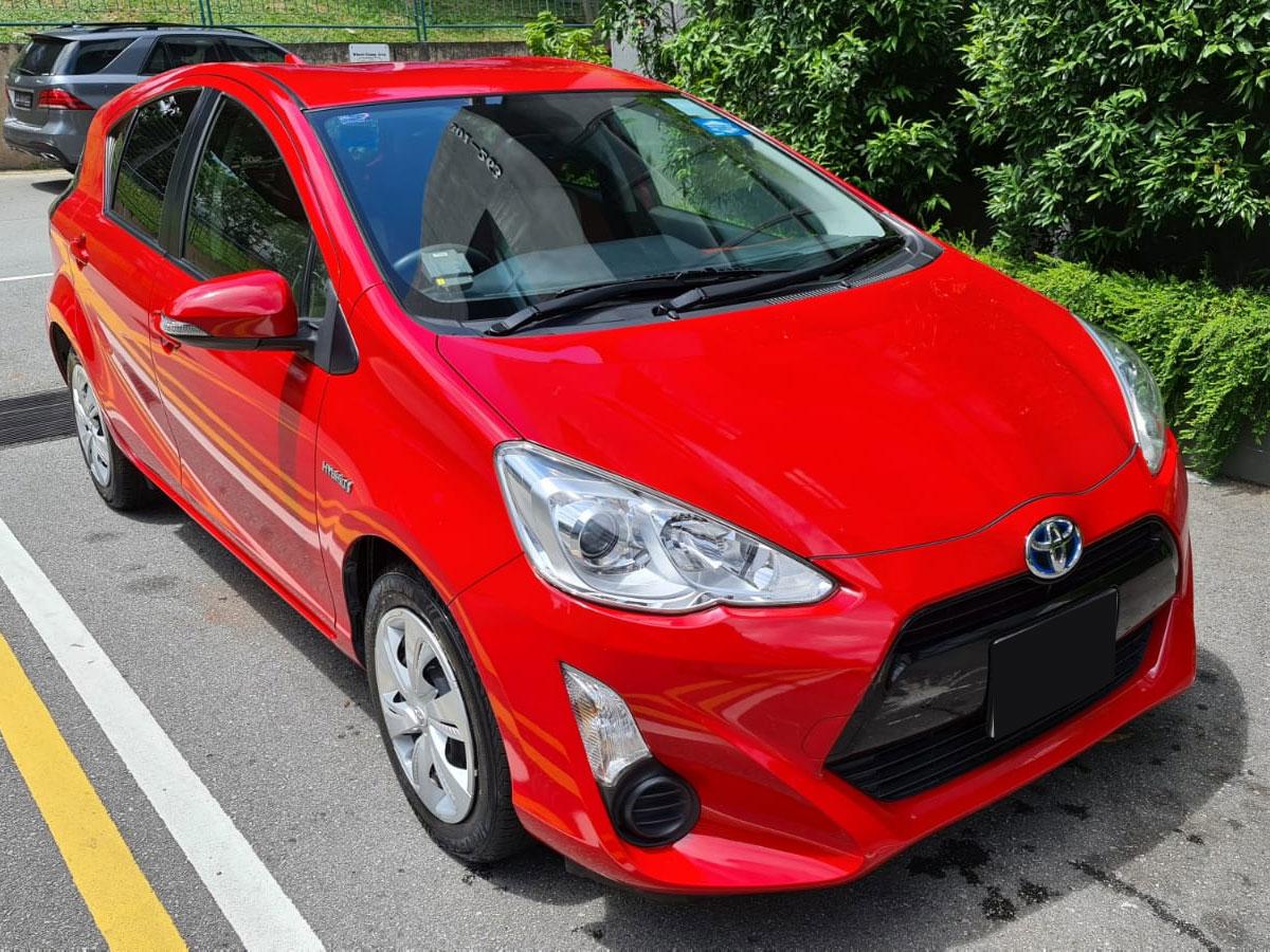 Toyota Aqua Hybrid 1.5L (For Rent)