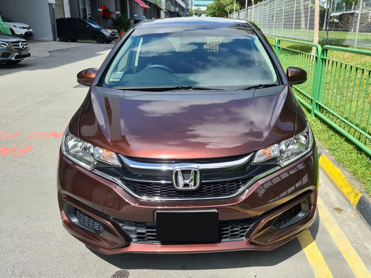Honda Fit 1.3A GF (For Rent)