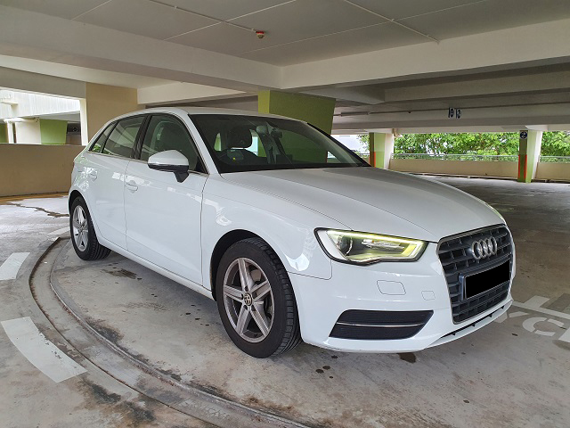 Audi A3 Sportback 1.4 TFSI Ambiente (For Rent)