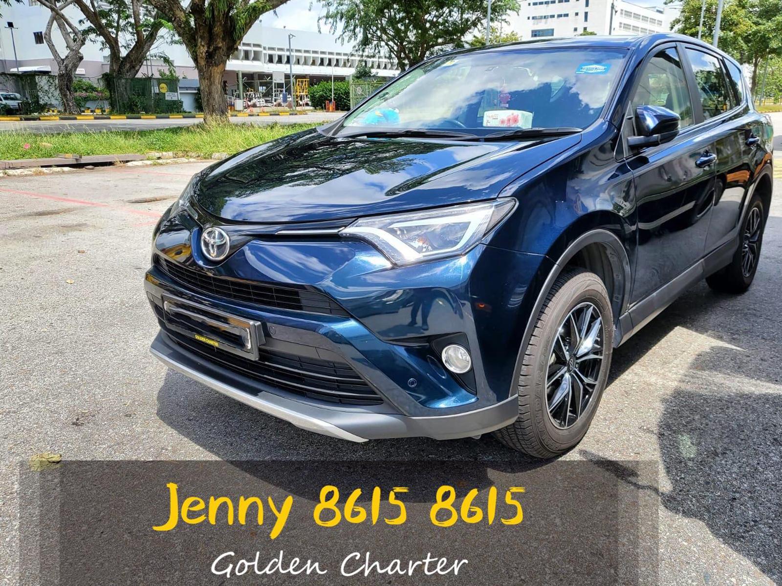 Toyota Rav4 2.0A (PHV Private Hire Rental)